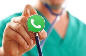 תקשורת בין רופא למטופל באמצעות וואטסאפ